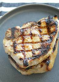 perfectly grilled pork chops