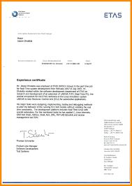 Work Experience Letter Template Word Lv Crelegant Com