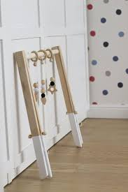 gimnasio de bebé de madera sin perchas solo marco por mrhomelt wooden rings wooden toys