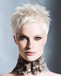Hairstyle Super Very Short Pixie Haircuts Hair Colors In Round