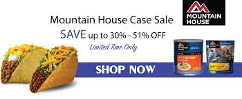 Best Selling Mountain House Freeze Dried Food Pouches