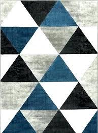 black and white geometric rug uk gray style modern grey loop area rugs blue mid century black white geometric rug