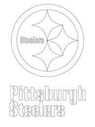 Small Picture Pittsburgh Steelers Logo coloring page Free Printable Coloring Pages