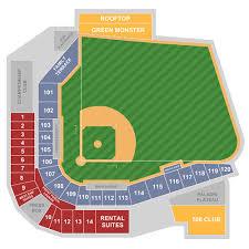 Hickory Crawdads Stadium Seating Chart Tickets Hickory Crawdads At Greenville Drive Greenville