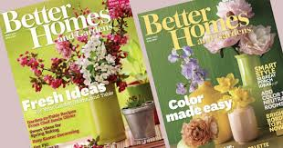 Small Picture Free 1 Year Better Homes and Gardens Subscription Hip2Save