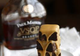 Fudgy Brownies with Salted Caramel Brandy Glaze Recipe by Ellen B ...