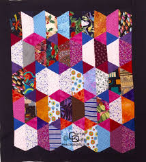 Free Half Hexagon Quilt Patterns | Hexagon quilt pattern, Hexagon ... & Free Half Hexagon Quilt Patterns Adamdwight.com