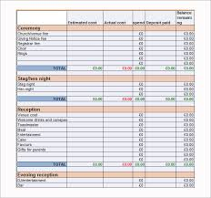 free wedding budget worksheet wedding budget template 9 download free documents in word pdf