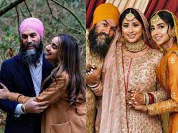 Together the two are taking over canadian politics! Who Is Jagmeet Singh S Wife Gurkiran Kaur Sidhu The Untold Story