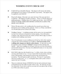 wedding checklist templates 43 checklist templates examples samples