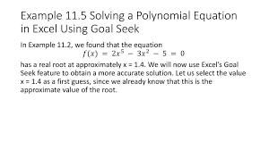 excel equation solver 4