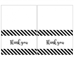 Thank You Black And White Printable 016 Free Printable Baby Shower Thank You Stickers Google