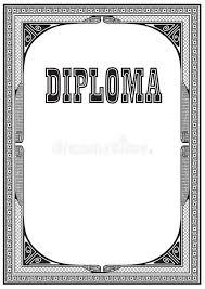 Черный ретро диплом рамки и литерности Иллюстрация вектора   Черный ретро диплом рамки и литерности Иллюстрация вектора изображение 80806882