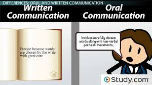 oral communication definition types advantages video  major differences between oral and written language styles
