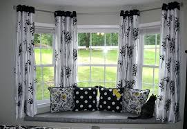 curtains decoration ideas exterior homey by window design with attractive seating area design plus splendid window curtain ideas bedroom decorating ideas