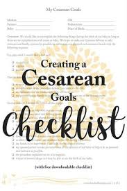 Birthing Plan Template Creating A Cesarean Birth Plan Kindred Bravely