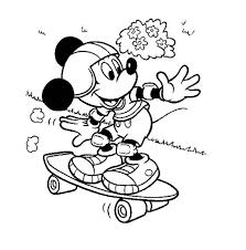 Kleurplaat Mickey Mouse Verjaardag Kleuren Nu Mickey Op Een