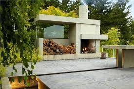outdoor fireplace type diy fire chimney