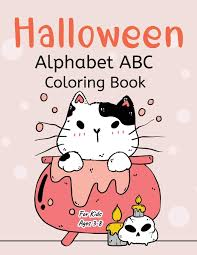 2020 popular 1 trends in toys & hobbies, sports & entertainment, jewelry & accessories, education & office supplies with alphabet coloring book and 1. Halloween Alphabet Coloring Book For Kids A Z Spooky Night Coloring Book Miller Katherine 9781952663673 Amazon Com Books