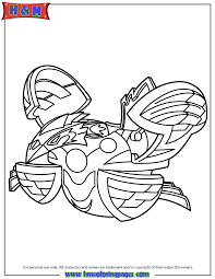 Bakugan Ingram Coloring Page H M Coloring Pages