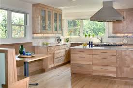 Example of a trendy kitchen design in Denver with granite countertops