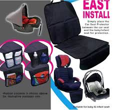 car seats car seat protector baby high quality waterproof leather child or cover easy clean
