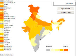 Population Chart Of Indian States India State Level Excel Heat Map Data Visualization On Behance