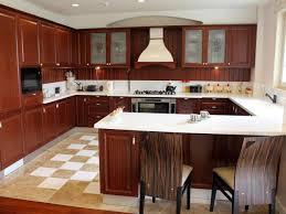 Image of: Small U Shaped Kitchen With Island