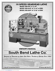 South Bend Lathe Lubrication Chart South Bend Sb1053 Owners Manual Pdf Download