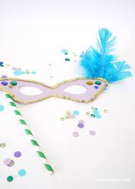 free printable mardi gras party mask templates