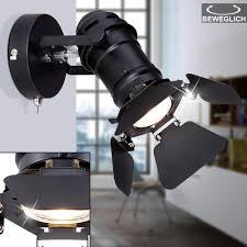 Adjustable wall lamp, black, height 21.5 cm, <b>EGON</b> | MeineLampe
