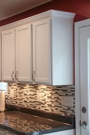 budget kitchen makeover laminate countertopoldings in cabinet molding prepare 0