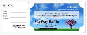 Prize Draw Tickets 40 Free Editable Raffle Movie Ticket Templates