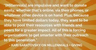 Millennial Quotes Magnificent Must Read Insight Into Millennials Interview Part 48 Network For Good