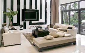Simple Living Room Furniture Charming Simple Living Room Design With White Loveseat And Chairs