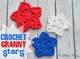 Star Crochet Pattern Stunning Crochet Granny Star The Stitchin Mommy