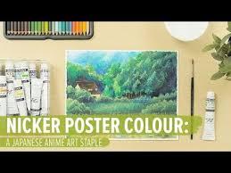 Sakura Poster Color Chart Nicker Poster Colour A Japanese Anime Art Staple