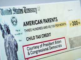 New Child Tax Credit Brings A Drop In ...