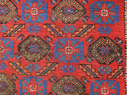 interesting little east persian rug with mina khani pattern brilliant wool and juicy colours