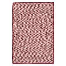sa sangria 7 ft x 9 ft indoor outdoor braided area rug
