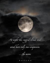 Beautiful Moonlight Quotes Best of Full Moon Photo Print With Boncho Quote Here Be Magic Pinterest