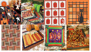 Halloween Quilt Patterns, Kits and More for Happy Seasonal ... & ... it's time to start thinking about autumnal quilt patterns, particularly  for seasonal holidays like Halloween! Quilt patterns can be a great way to  fill ... Adamdwight.com