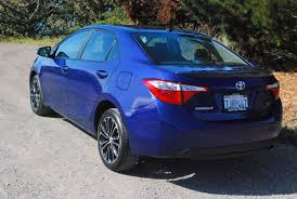 Review: 2015 Toyota Corolla S | Car Reviews and news at CarReview.com