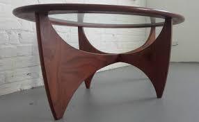Teak And Glass Coffee Table Beautiful G Plan Oval Astro Teak Glass Coffee Table Whittaker