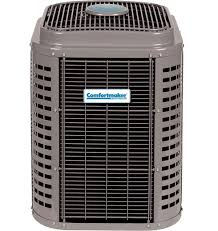 heat pumps comfortmaker deluxe 19 two stage central air conditioner pdp