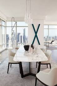 luxury dining room sets marble. delighful luxury marble dining table bloomberg tower apartment by tara benet design inside luxury room sets