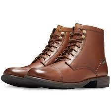 eastland men 39 s high fidelity cap toe mid dress boots tan