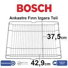 Bosch Ankastre Fırın Izgara Teli / Grill wire 42,9x37,5cm Fiyatları ve  Özellikleri