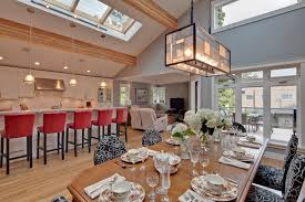 open kitchen dining room designs. Contemporary Open Concept Kitchen Designs - Inspiration For A L-shaped Dining Room