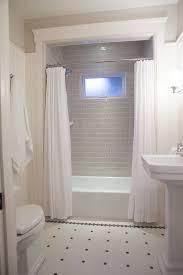 Bathroom Crown Molding Custom Grey Subway Tile Bathroom Black White Tile Floor Crown Molding